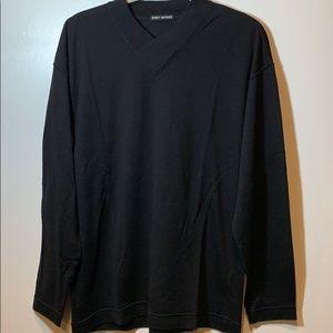 Issey Miyake Men's Wool V-Neck Knit Sweater